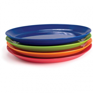 photo: GSI Outdoors Gourmet Plate Set plate/bowl