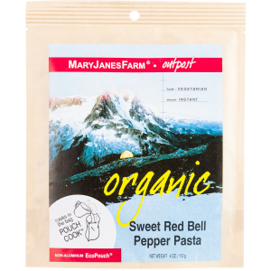 photo: Mary Janes Farm Organic Sweet Red Bell Pepper Pasta vegetarian entrée