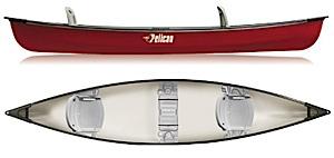 photo of a Pelican International canoe