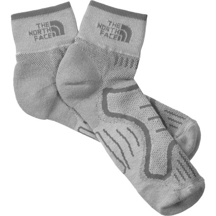 photo: The North Face Women's Cushioned Running Quarter Sock running sock