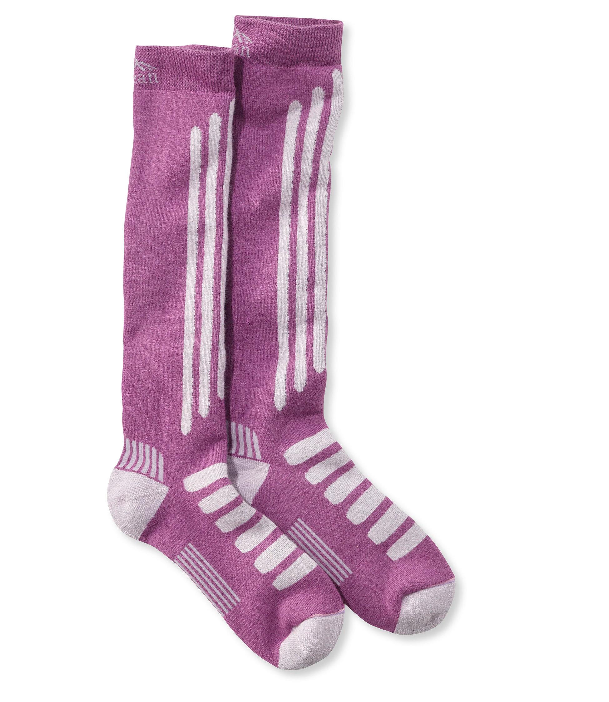 L.L.Bean Alpine Ski Socks, Lightweight