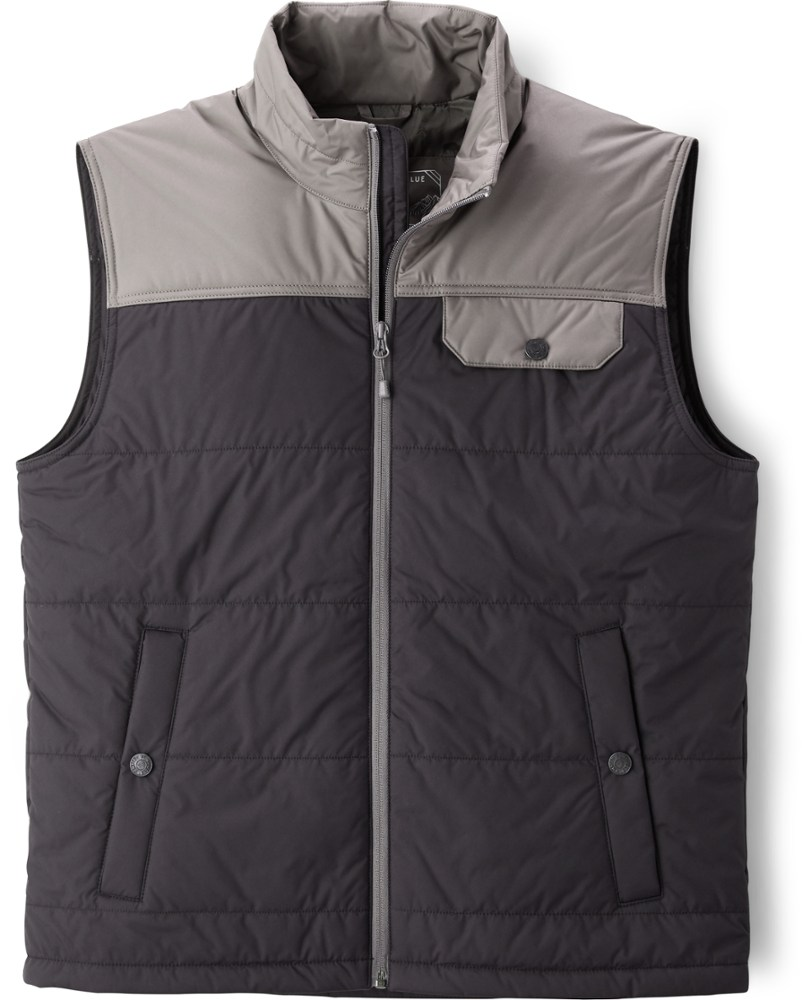 photo: United by Blue Men's Bison Puffer Vest synthetic insulated vest
