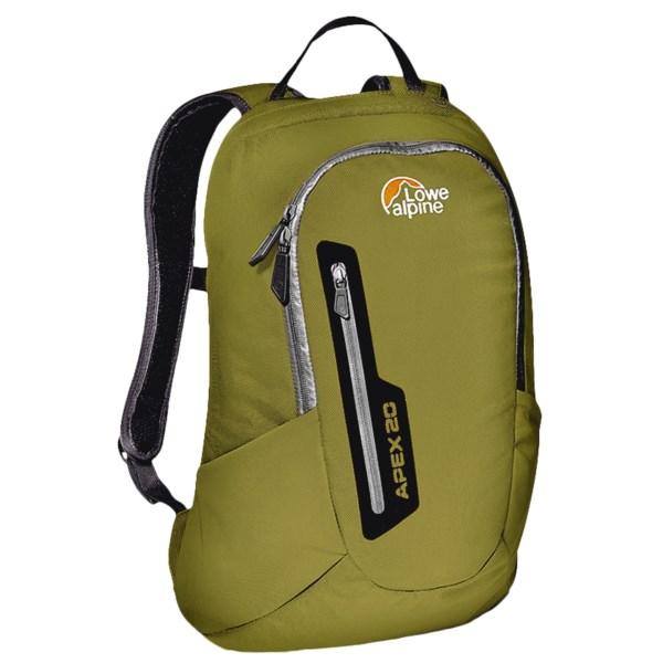 photo: Lowe Alpine Apex 20 daypack (under 2,000 cu in)