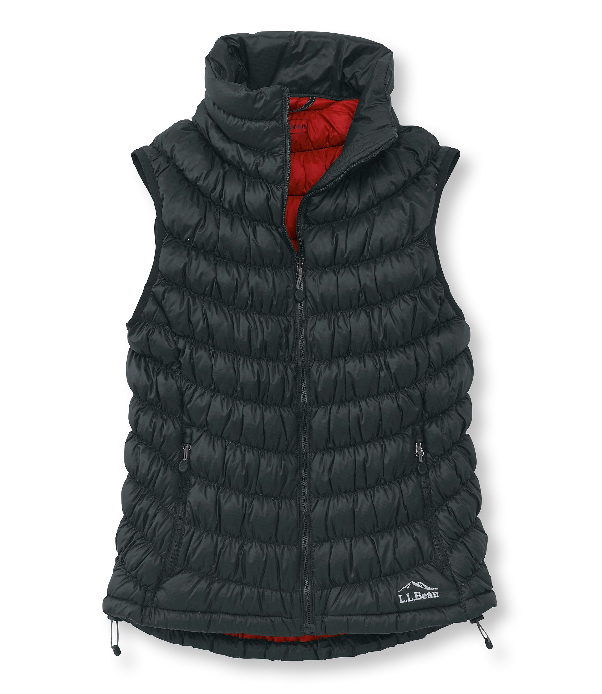 photo: L.L.Bean Women's Scrunch Down Vest down insulated vest