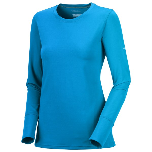 photo: Columbia Anytime Long Sleeve Crew Top long sleeve performance top