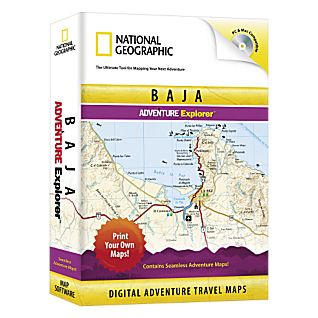 National Geographic Baja Explorer CD-ROM
