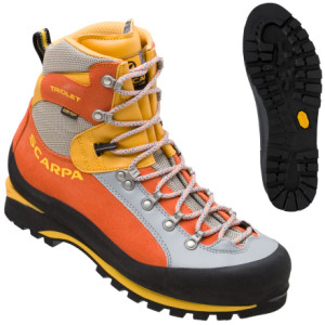 photo: Scarpa Triolet GTX mountaineering boot
