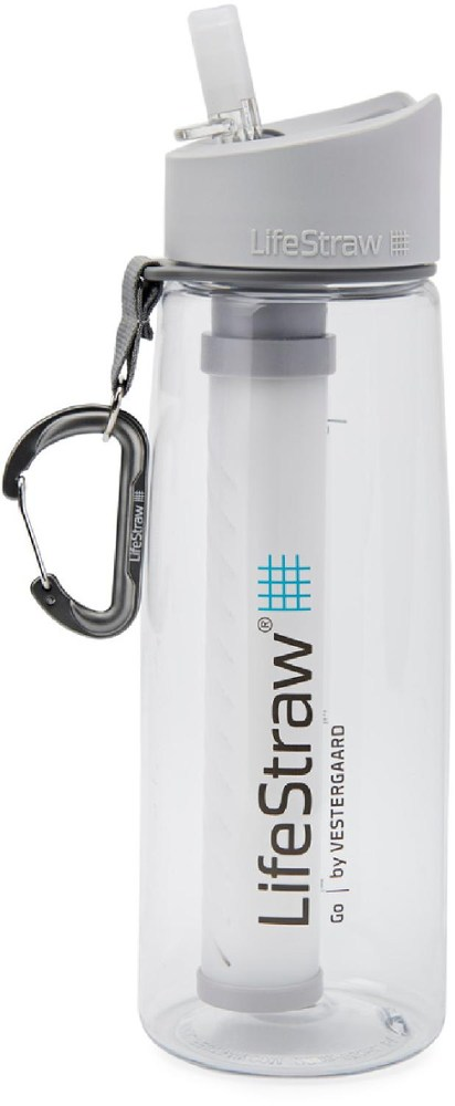 photo: LifeStraw Go bottle/inline water filter