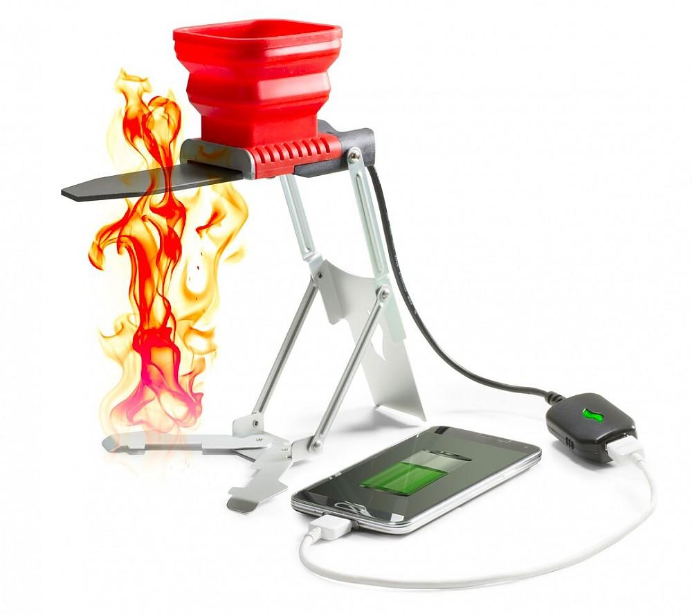 photo: FlameStower Heat Charger power storage