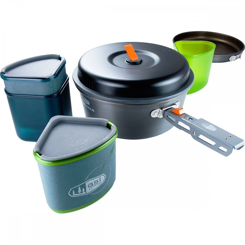 photo: GSI Outdoors Pinnacle Backpacker Cookset pot/pan