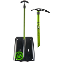 K2 Rescue Shovel Plus Ice Axe