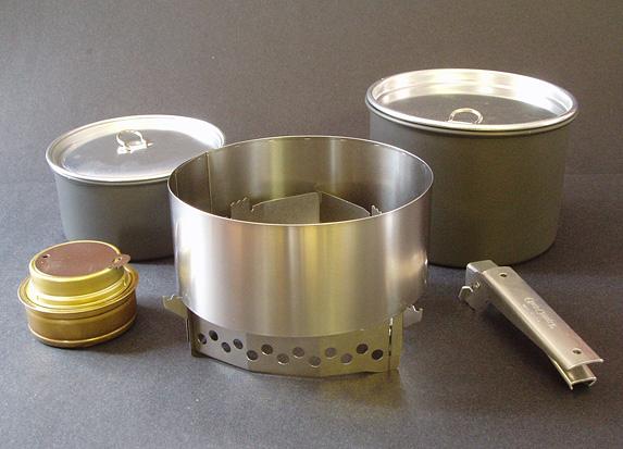 photo: Clikstand Sawtooth Combo alcohol stove