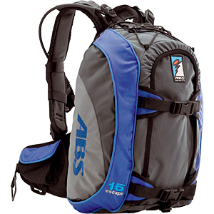 photo: ABS Escape 15 avalanche airbag pack