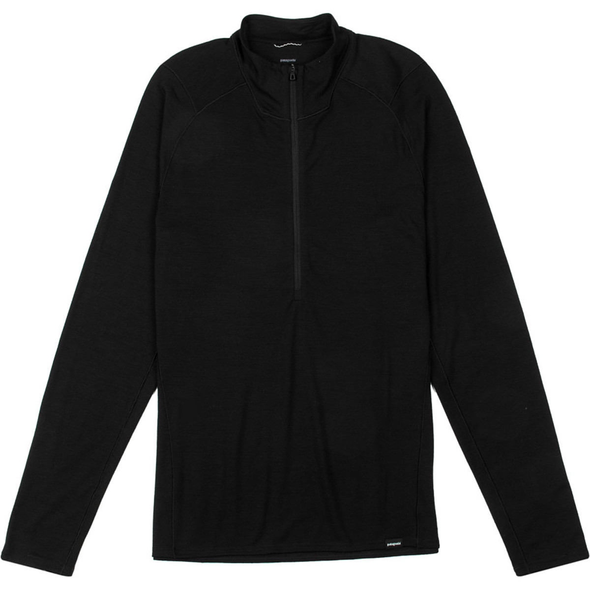 photo: Patagonia Merino 2 Lightweight Zip-Neck base layer top