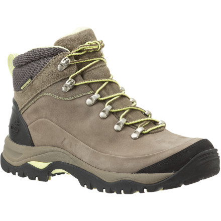 photo: Timberland Gannon Mid Leather Waterproof hiking boot