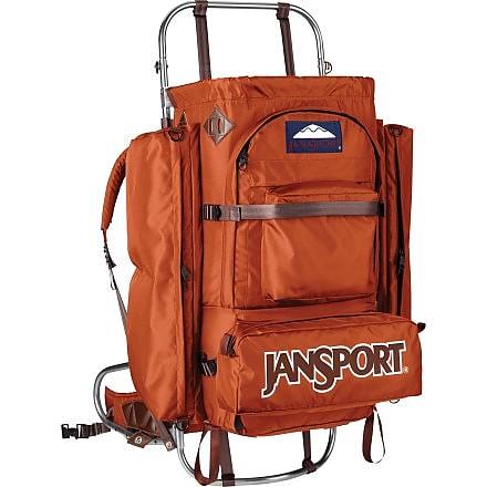 photo: JanSport D2 external frame backpack