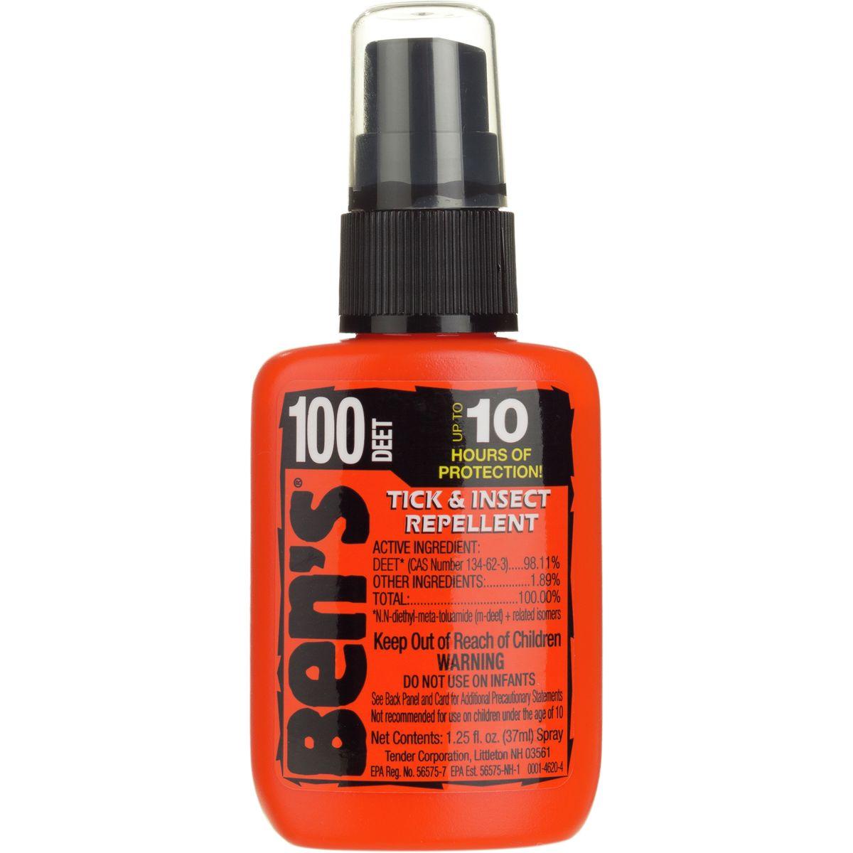 Tender Ben's 100 Max Deet Tick & Insect Repellent
