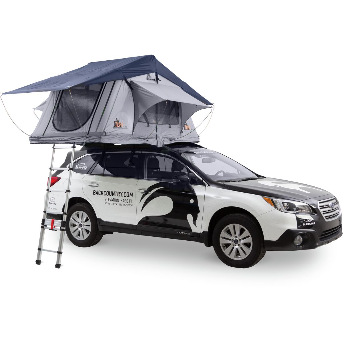 photo: Tepui Baja Series Ultralite Kukenam 4 roof-top tent