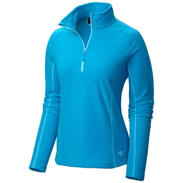 photo: Mountain Hardwear Women's MicroChill Zip T fleece top