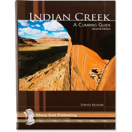 photo: Sharp End Publishing Indian Creek: A Climbing Guide us mountain states guidebook