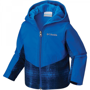 photo: Columbia Steens Mountain Overlay Hoodie fleece jacket