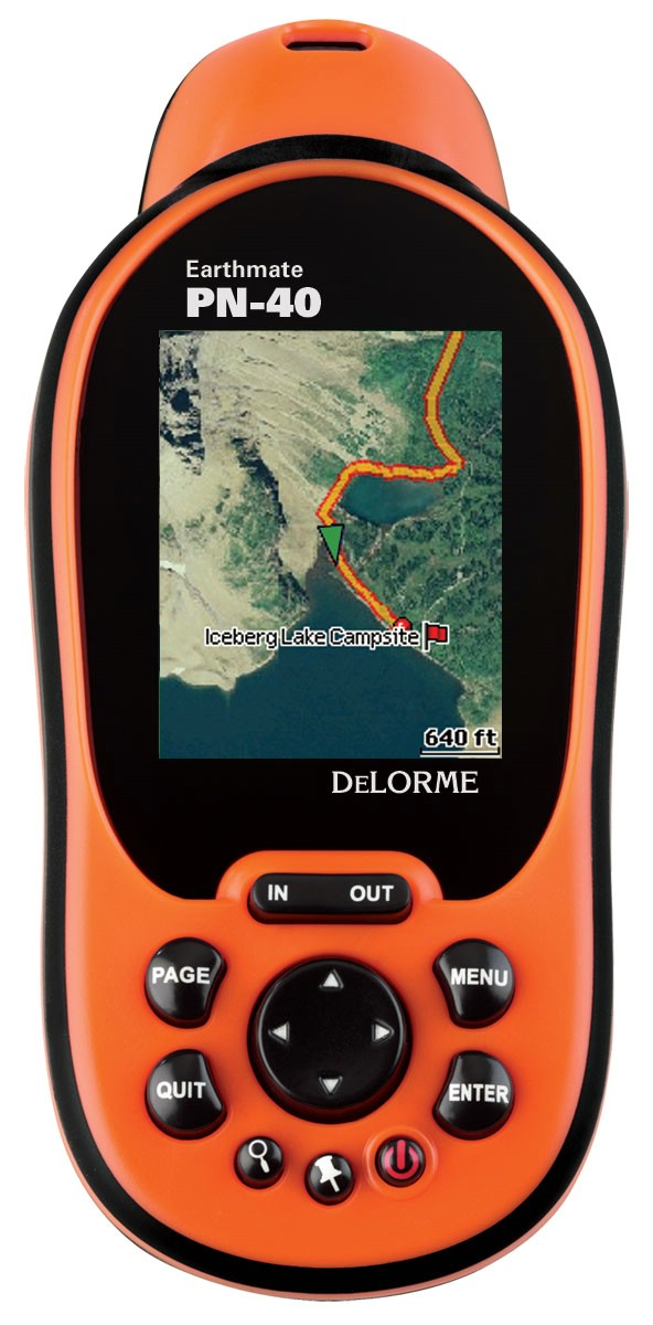 photo: DeLorme Earthmate GPS PN-40 handheld gps receiver