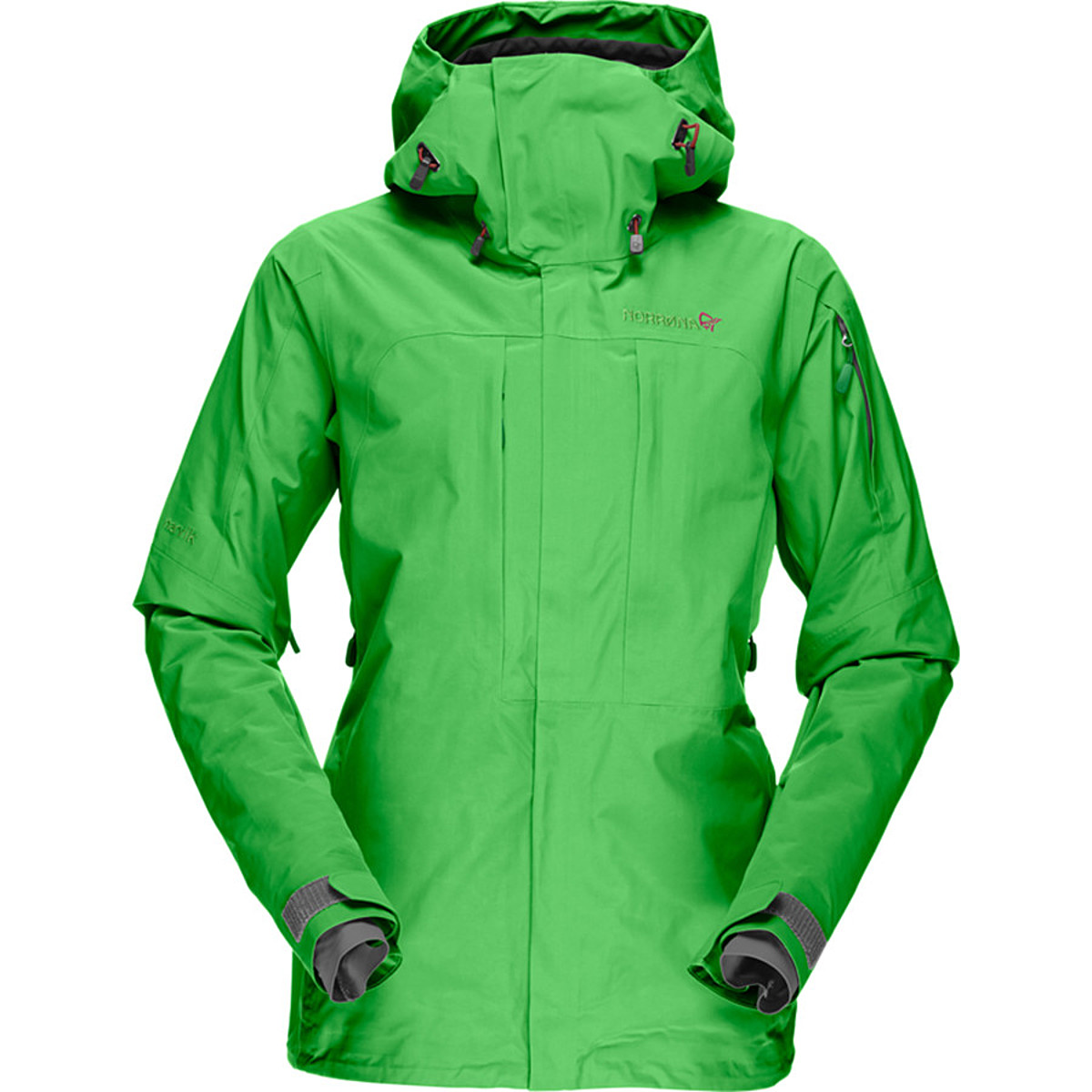 photo: Norrona Women's Narvik Gore-Tex Perf. Shell 2L Jacket waterproof jacket