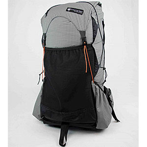 photo of a Gossamer Gear backpack