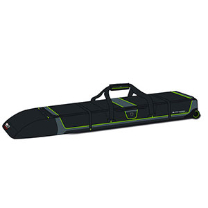 High Sierra Wheeled Double Adjustable Ski Bag