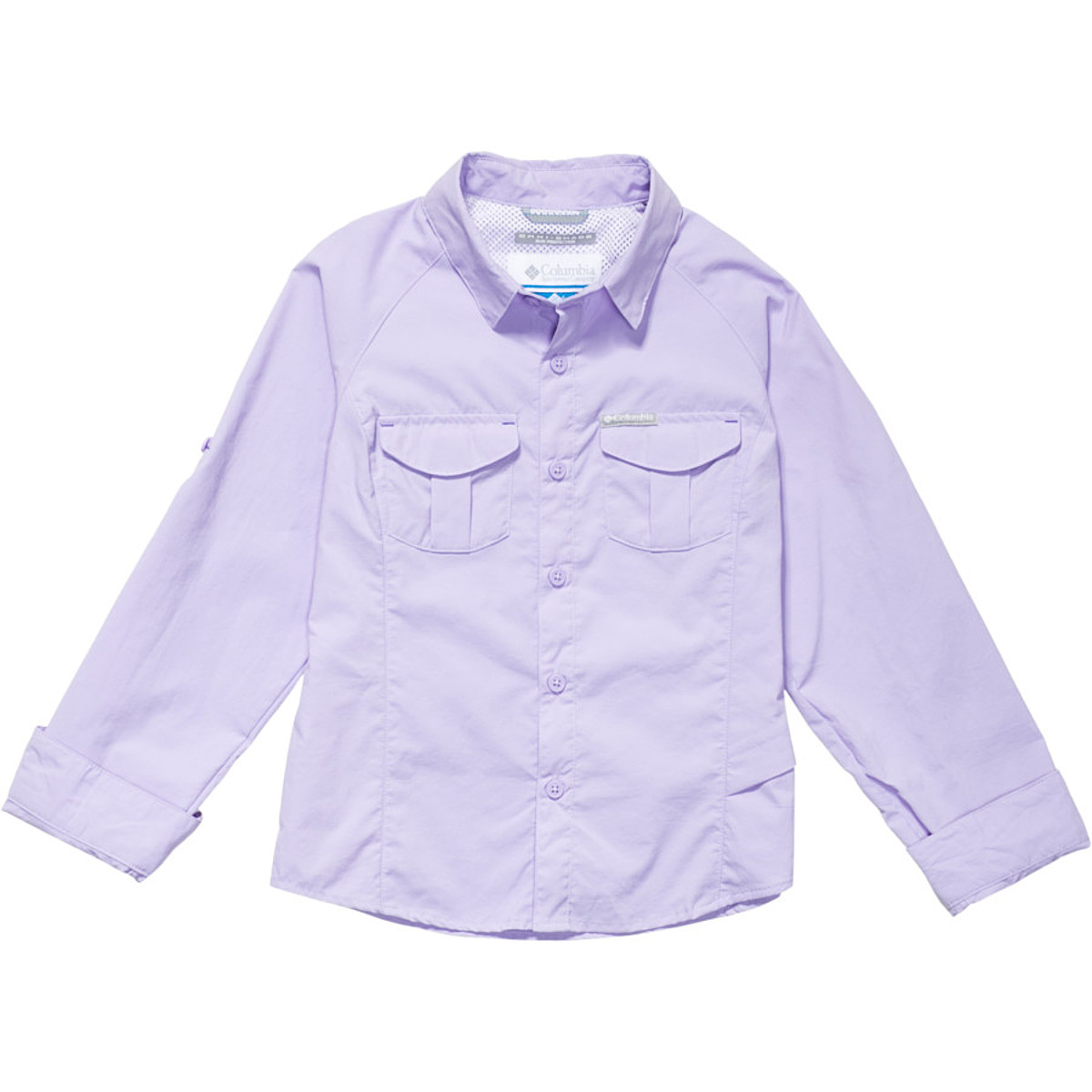 photo: Columbia Girls' Silver Ridge Long Sleeve Shirt hiking shirt