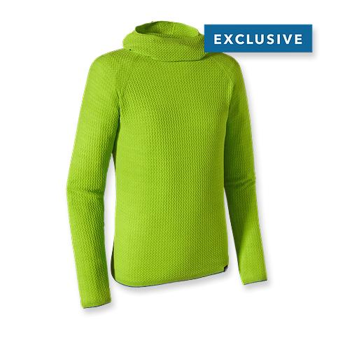 photo: Patagonia Merino Air Hoody base layer top