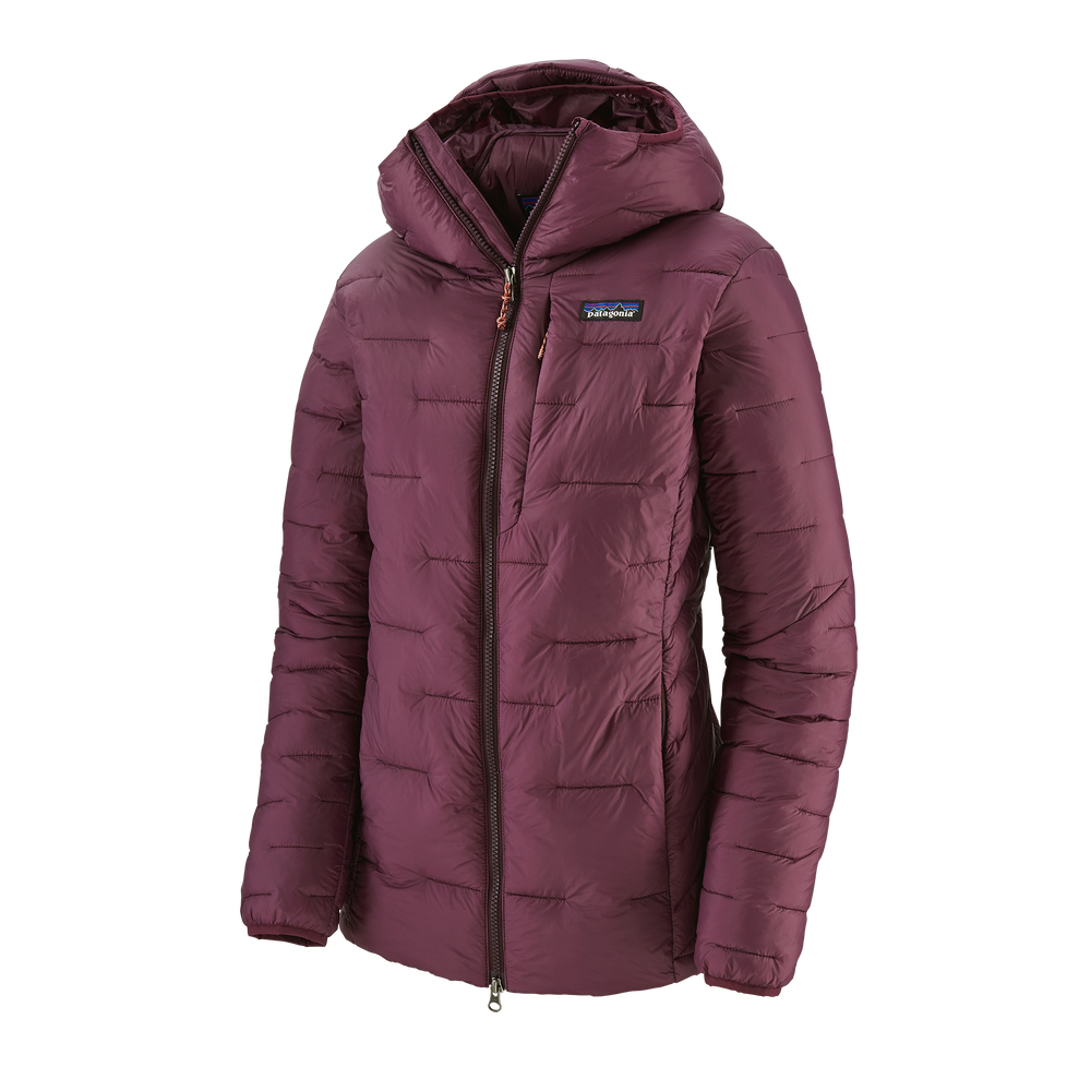 photo: Patagonia Women's Macro Puff Hoody synthetic insulated jacket