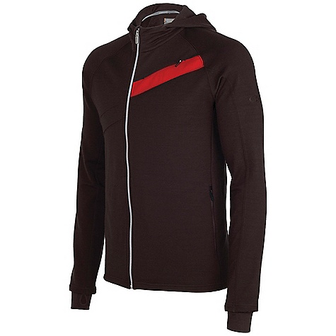 Icebreaker Carve Long Sleeve Hood