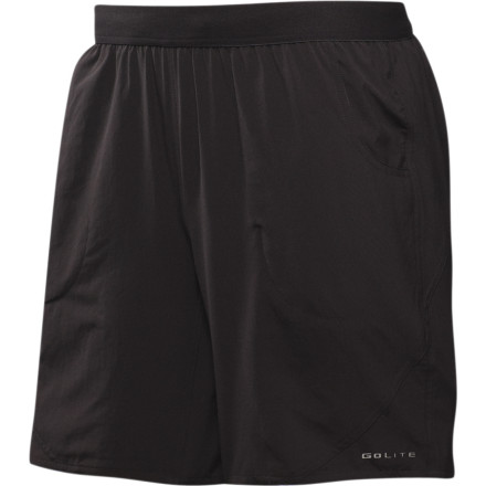 photo: GoLite Mesa Trail Run Short active short