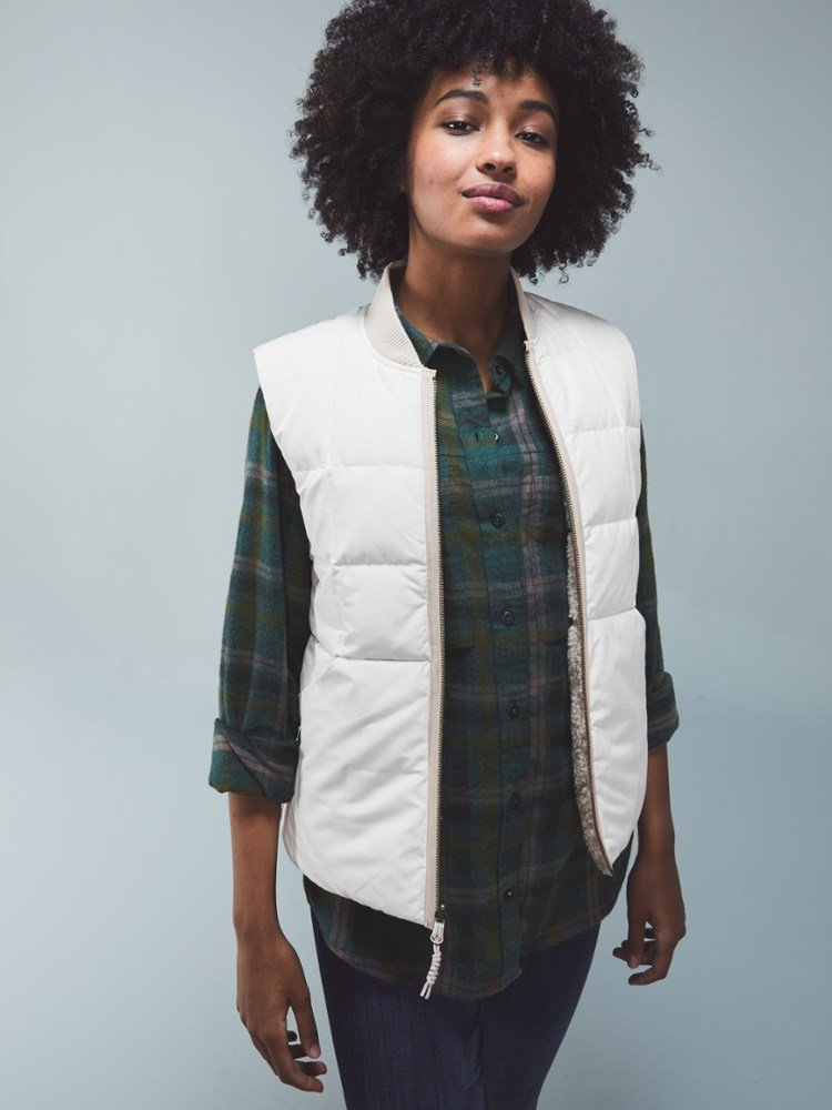 REI Wallace Lake Reversible Down Vest
