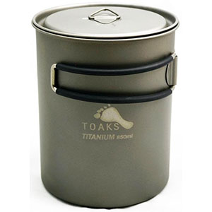 Toaks Titanium 850ml Pot