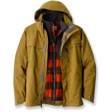 photo: Columbia Psycho Cowboy Parka component (3-in-1) jacket