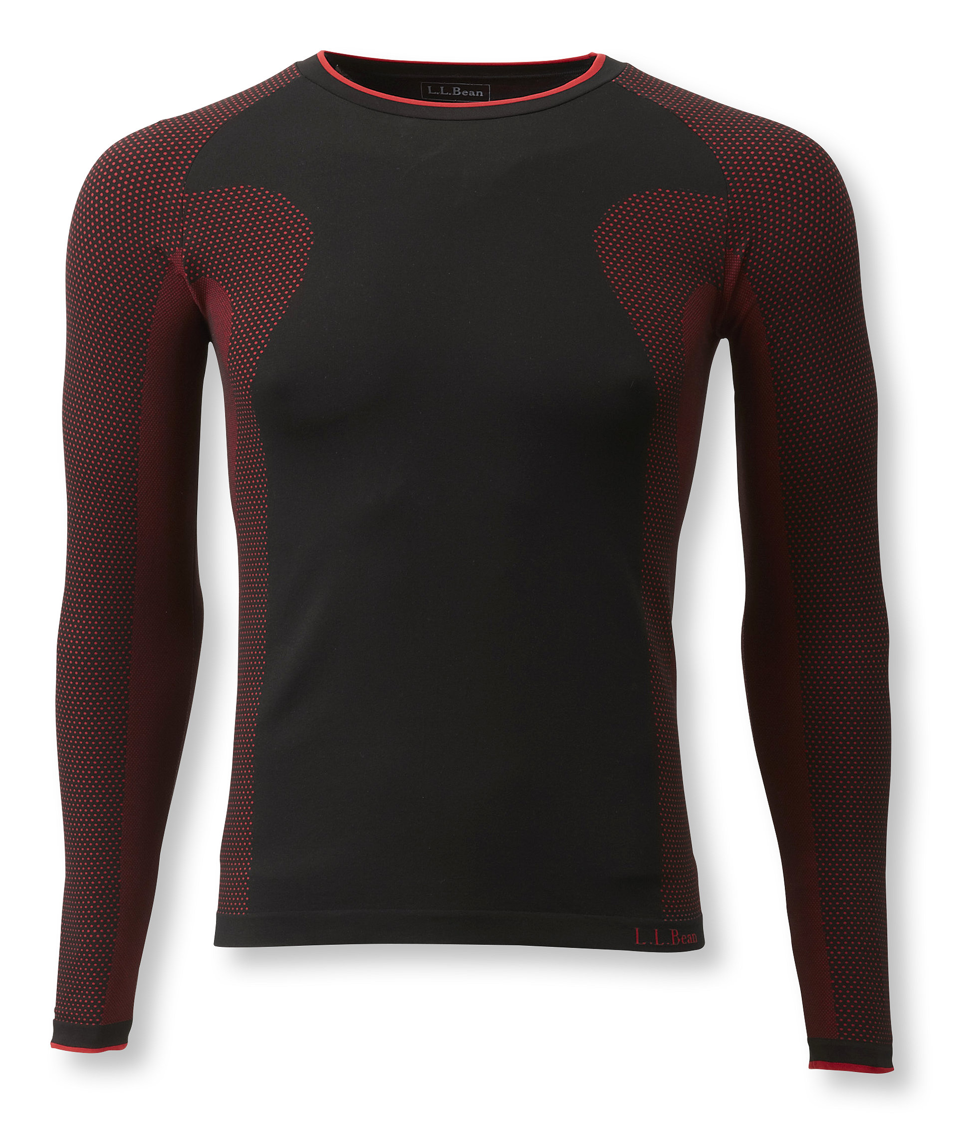 L.L.Bean Polypro Base Layer Underwear, Long-Sleeve Crew