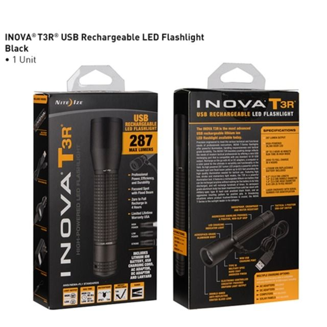 photo: Nite Ize Inova T3r flashlight