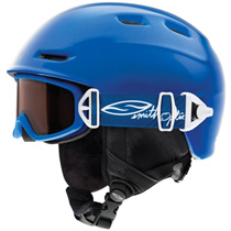 photo: Smith Cosmos Jr. Helmet & Galaxy Goggles Combo snowsport helmet