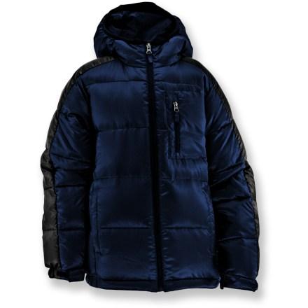photo: White Sierra Alder Creek Down Jacket down insulated jacket