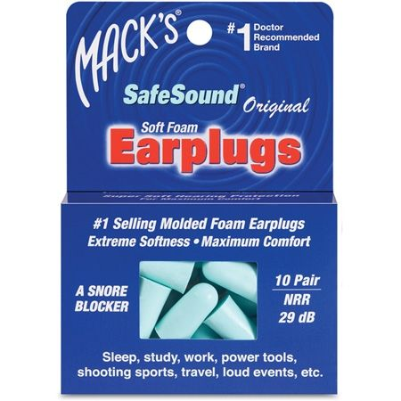 photo: Mack's SafeSound Foam & Slim Fit Earplugs first aid supply