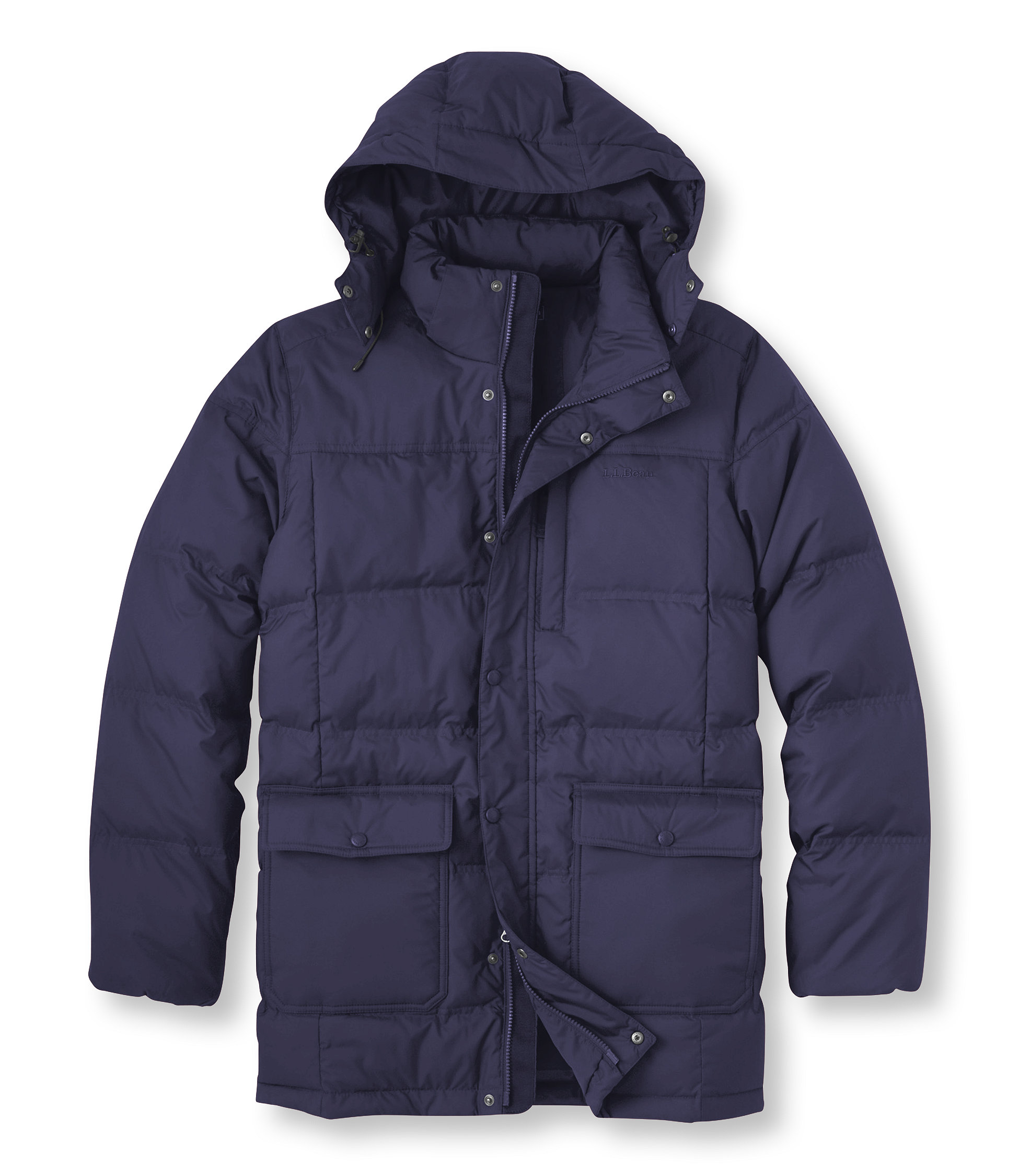 photo: L.L.Bean Trail Model Down Hooded Parka down insulated jacket