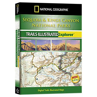 National Geographic Sequoia and Kings Canyon National Park Explorer 3D CD-ROM