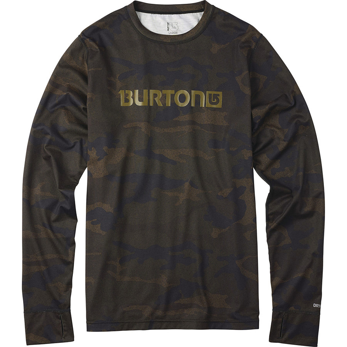 photo: Burton Midweight Crew base layer top