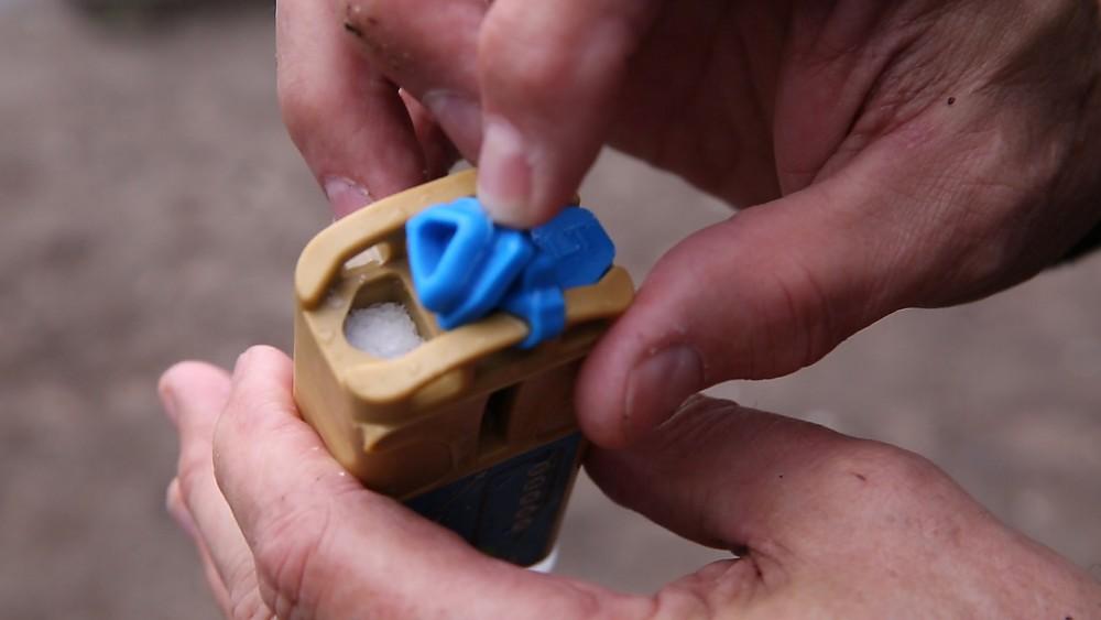 photo: Aqua Research H2gO Global water purifier