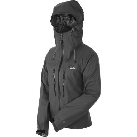 photo: Rab Women's Momentum Jacket waterproof jacket