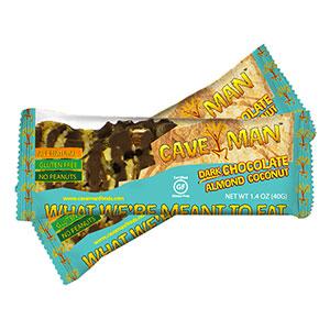 Cave Man Dark Chocolate Almond Coconut Bar