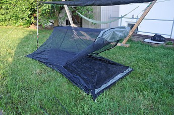 My main reasons for getting this tent was that I wanted to have a shelter that would allow me to set up the tarp first if it were raining. & BearPaw Wilderness Designs Minimalist 2 Reviews - Trailspace.com