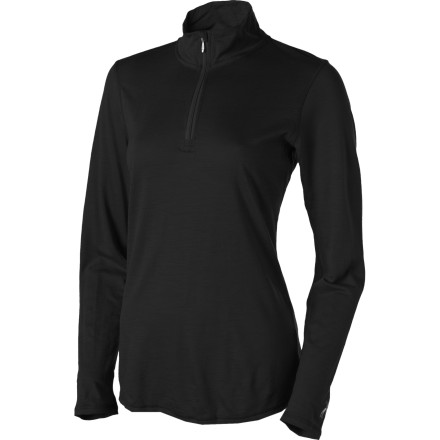 photo: Smartwool Women's Microweight Zip-T base layer top